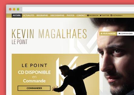 Creation site musique sur paris