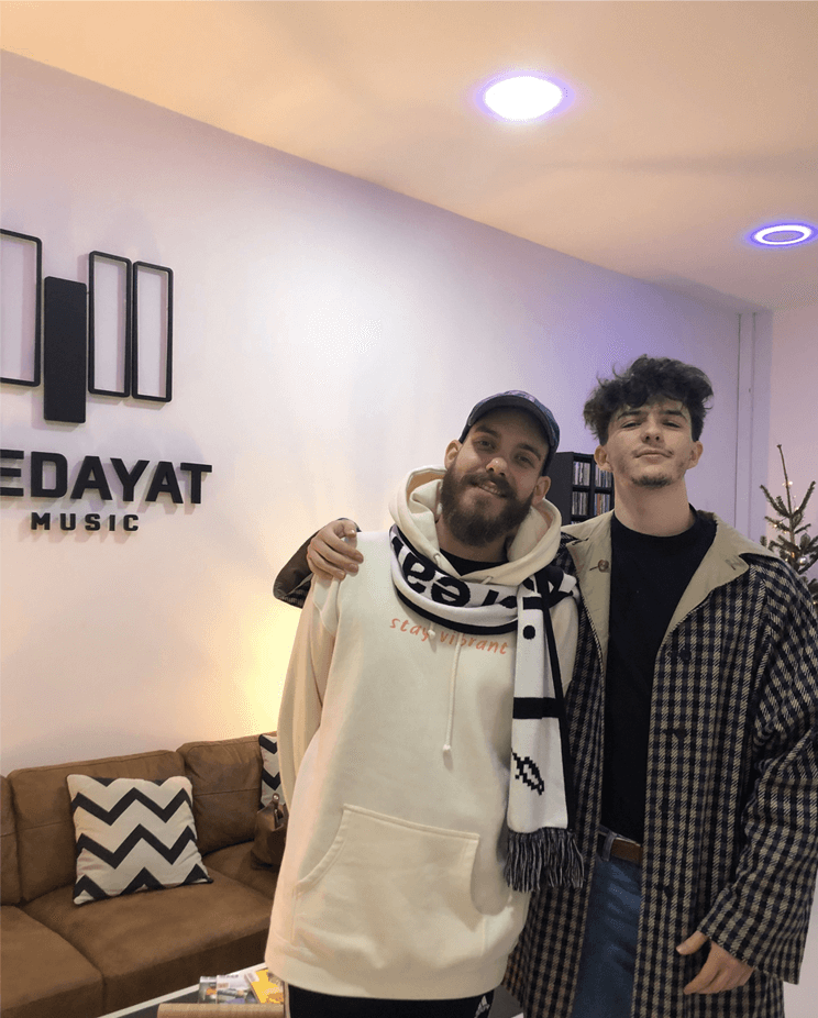 Petit Biscuit en studio - Hedayat Music
