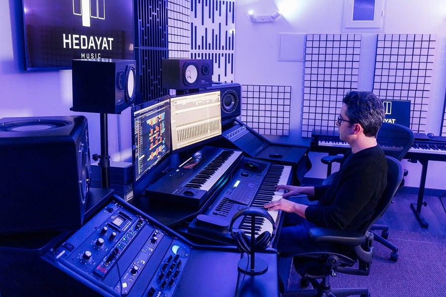 Séance de composition et arrangement  - Hedayat Music