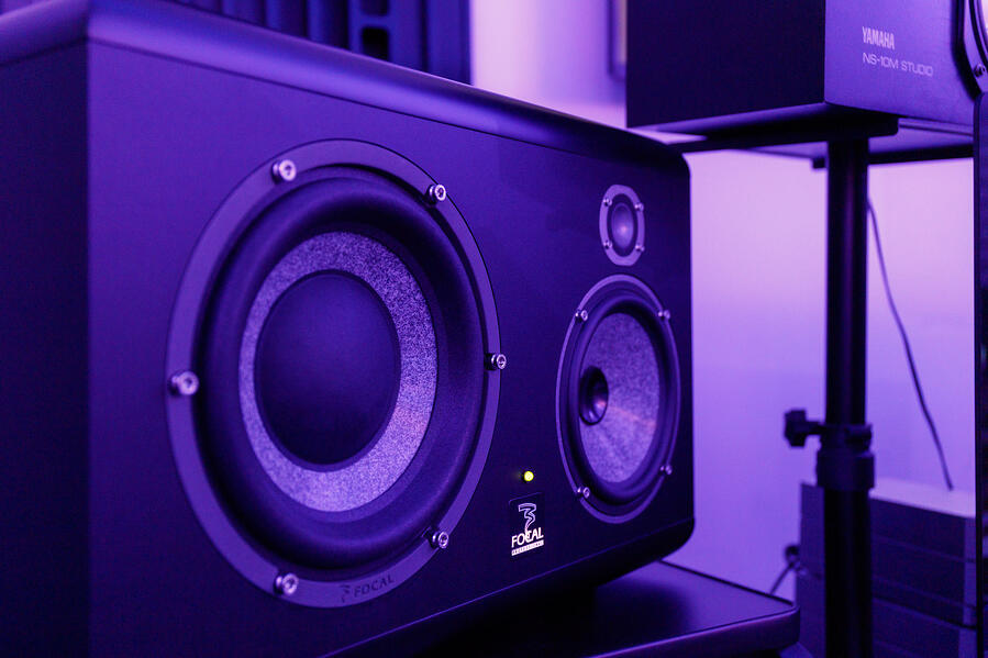 Enceintes de studio d'enregistrement - Hedayat Music