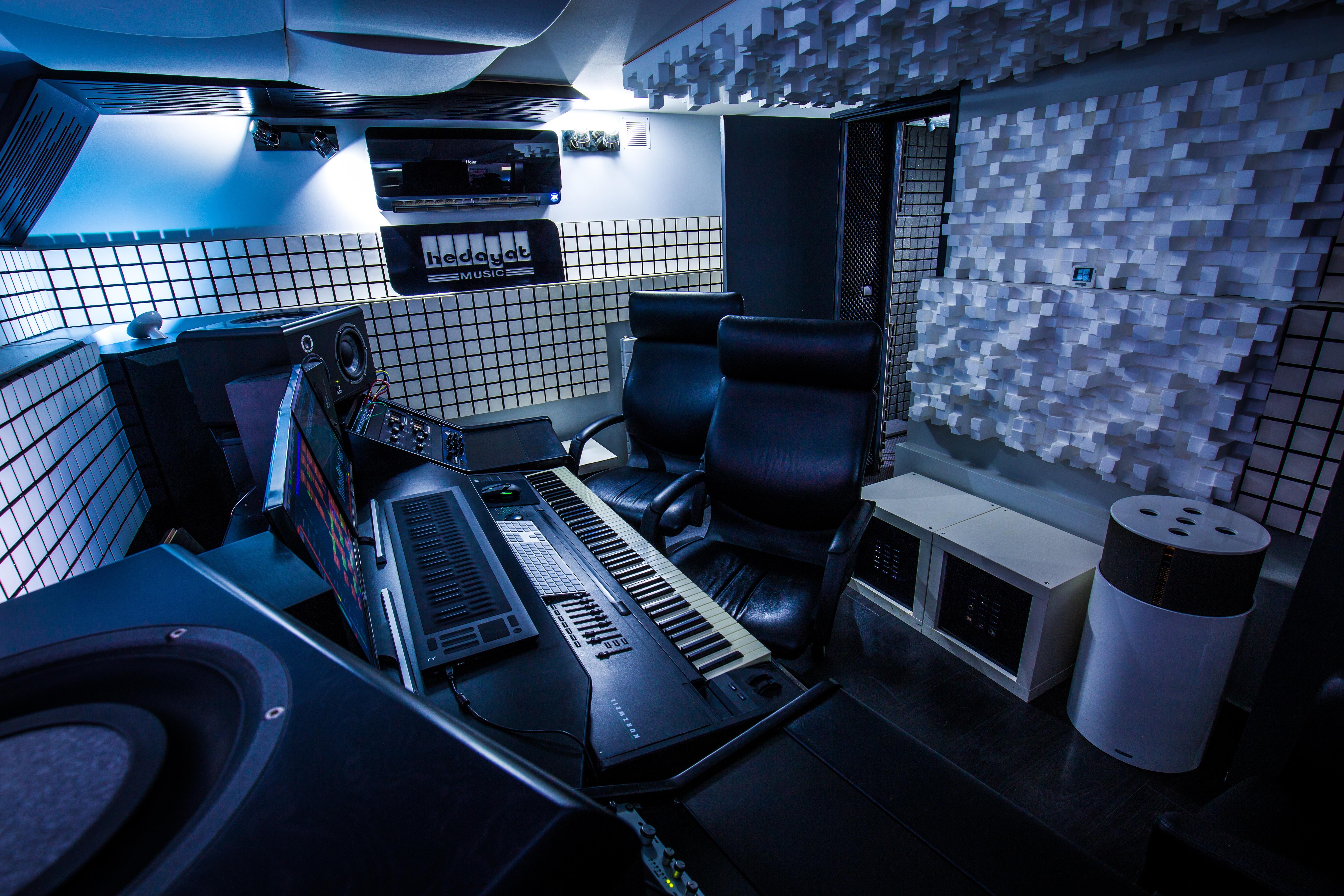La régie / Mix room