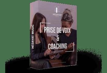 Coffret cadeau prise de voix et coaching